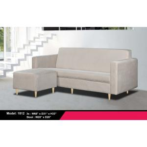 L Shape Sofa 1812